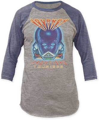 Journey Frontiers Tour Vintage Music Rock Punk Raglan Baseball Mens T Tee Shirt
