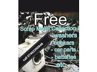 scrap metal wanted free collection