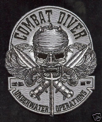 COMBAT DIVER PATCH SEAL TEAM 3 US NAVY VETERAN UDT USS MARK UNDERWATER OPS WOW for sale  Lake Forest