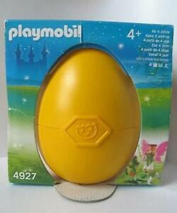 Playmobil Fairy with flower throne Easter Egg 4927 New & sealed