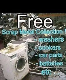 All scrap metal wanted free uplift NOT LIKE THE REST WE TAKE THE LOT paisley and surrounding areas