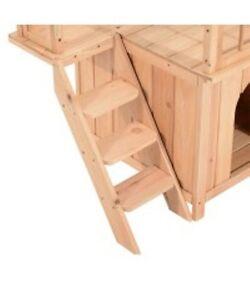 Pet House Cat Tree 2-Story / Platform Outdoor Kennel w/ Stairs Oakville / Halton Region Toronto (GTA) image 6