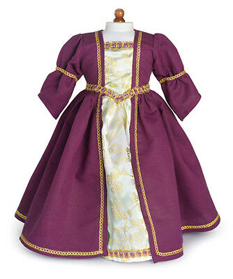 Купить Unbranded - Doll Clothes AG 18 Dress Renaissance Purple Carpatina Fits American Girl Dolls