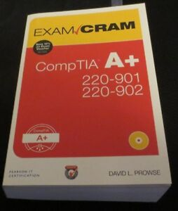 Used: Exam Cram CompTIA A+ study guide, Prowse