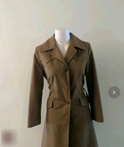 Vintage Woman's Trench Coat
