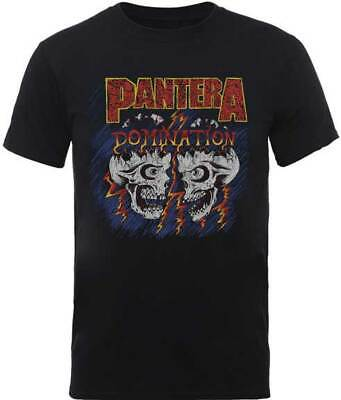 Pantera Domination Groove Thrash Heavy Glam Metal Music Band T Shirt -