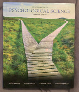 An Intro to Psychological Science: Canadian Edition, Pearson