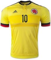 Home Jersey Colombia Copa America 2015 #10 James 30$