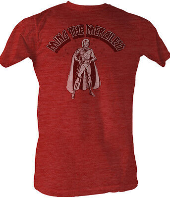 Flash Gordon Ming The Merciless Adult T Shirt Classic 80's Movie - Adult Movies Cheap