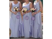 lilac bridesmaid dresses