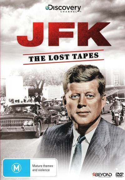 JFK: The Lost Tapes * NEW DVD *