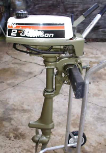moteur johnson 2 hp