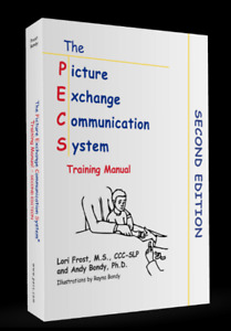 PECS (picture  exchange communication system) manual