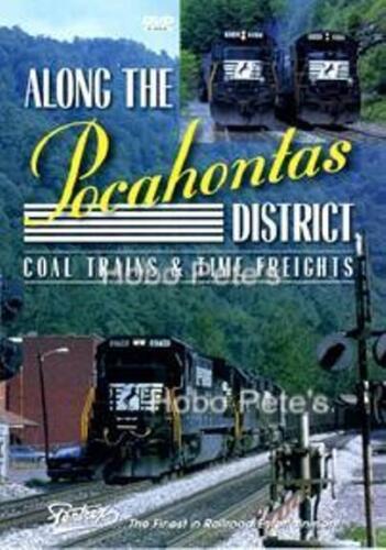 * Pentrex DVD: ALONG THE POCAHONTAS DISTRICT - New!