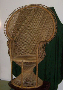 Wicker  Chair, Great Condition Like New!