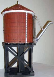 Model Railway Plans...Alberni Pacific Water Tank-G Scale