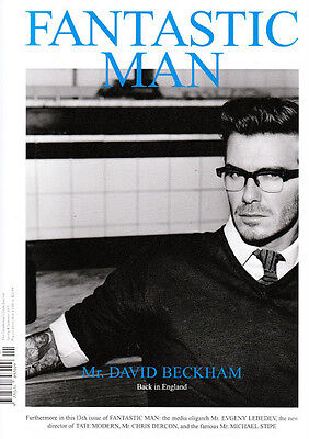 FANTASTIC MAN Magazine #13 S/S 2011 DAVID BECKHAM Michael Stipe NOAH HUNTLEY