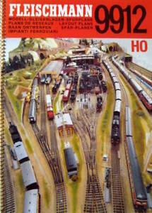 FLEISCHMANN H0 Gleispläne 9912 Gleisanlagen Gleisplanheft Gleisplan