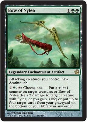 Bow of Nylea, Light Play, Japanese, Theros MTG (Bow Of Light)