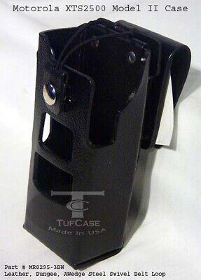 Caseguys Motorolatm Xts2500 Model Ii 6key Leather Case Wsvl Belt Loop