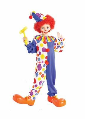 New Clown Child Costume Small - Clown Costume Boys