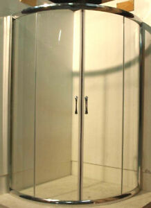 portes de douche en coin pour ceramique en liquidation