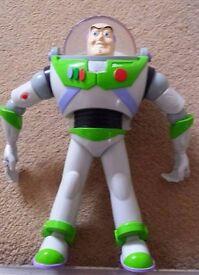 Buzz Lightyear bathtime toy