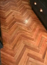 African Curupay Hardwood Parquet Flooring