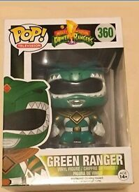 Green Ranger Pop Vinyl new in box
