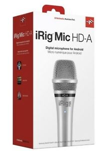 New IK Multimedia iRig Mic HD-A Handheld Digital Microphone