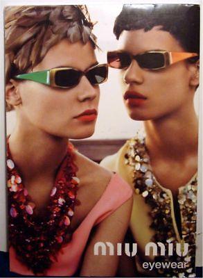 MIU MIU EYEWEAR SUNGLASSES STORE DISPLAY (Sunglasses Advertisement)