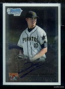 DBR) 2010 Bowman Draft Chrome JAMESON TAILLON Auto Rookie RC Pirates BDPP79