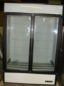 True glass door Freezer Merchandisers -