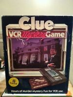 Clue VCR Mystery Game: (Beta Format) 1985