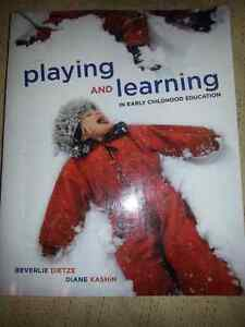 PLAYING & LEARNING IN EARLY CHILDHOOD EDUCATION Cambridge Kitchener Area image 1
