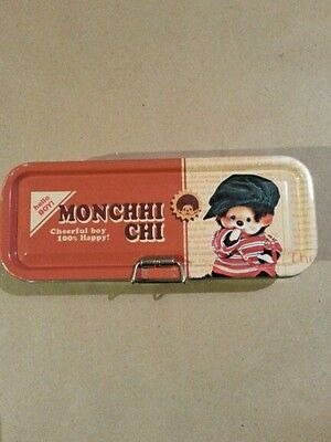 Monchhichi Pencil Case 3 Compartment Japanese Issue