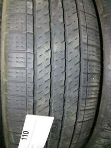 PNEUS ÉTÉ USAGÉS 225/60R17 22560R17 CONTINENTAL 4X4 CONTACT M+S (4 DISPONIBLES)