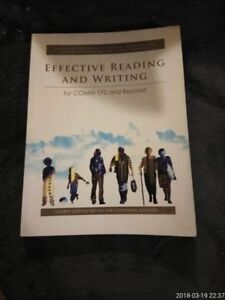 Effective Reading And Writing : Comm 170