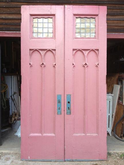 Large Gothic Entry Doors