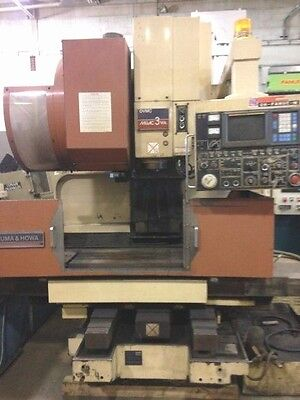 Okuma Howa Cnc Vertical Machining Center Model Ac-3va 18543c