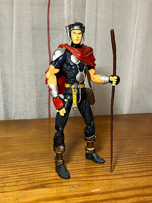 Asgardian Wiccan Marvel Legends Action Figure from Young Avengers Loose