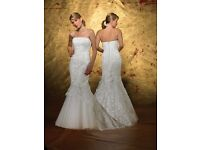 Ivory Wedding dress by forever yours new with labels size 10