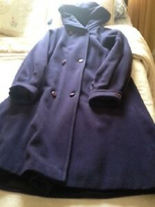 Ladies winter coat - purple