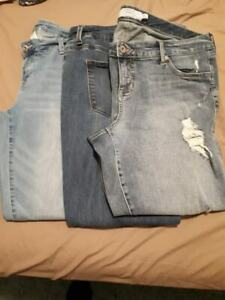 Maurice and Torrid Sz 16 Jeans - Excellent Condition