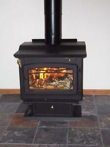 New wood stove