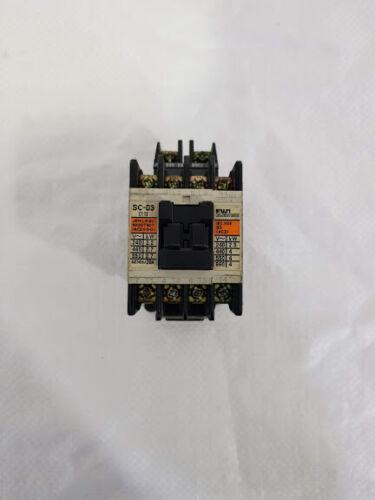 Fuji Electric Co Ltd SC-03 32A AC Contactor Cat no 4NC0A0