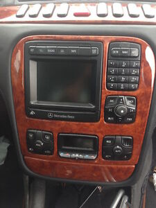 RADIO OEM FACTORY WITH NAVIGATION MERCEDES S430 S500 S600 S55