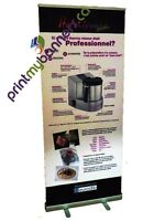 Retractable Banner Stand - Most Popular for Display @ Trade Show