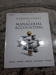 Cornerstones of Managerial Accounting Second Canadian Edition