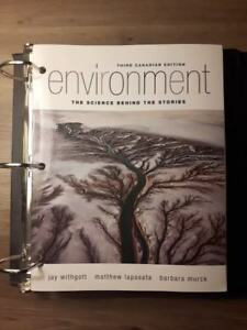 Environment: The Science Behind the Stories, 3rd cdn edition